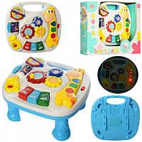 Игровой центр столик музыкальный для малышей 16-28-25 см 688