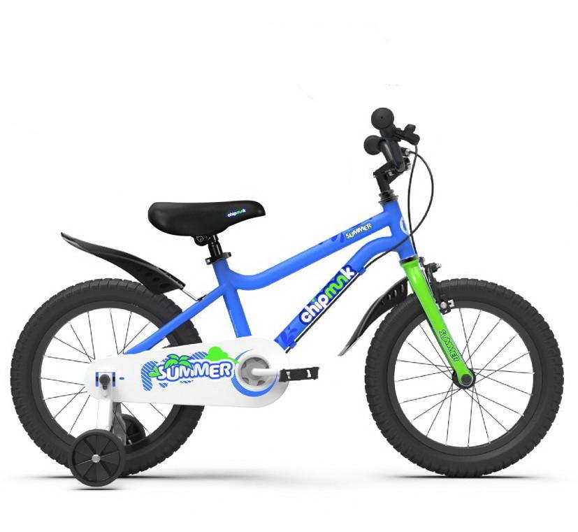 "Велосипед 16"" RoyalBaby Chipmunk SUMMER OFFICIAL UA синій CM16-1"