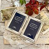 Старая английская фоторамка на два фото, парная рамка, посеребренный металл, Англия, винтаж, фото 2