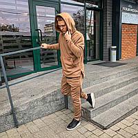 Чоловічий зимовий костюм Asos Long бежевий