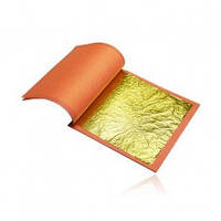 Пищевое золото листовое 90*90 10шт.(код 01420)