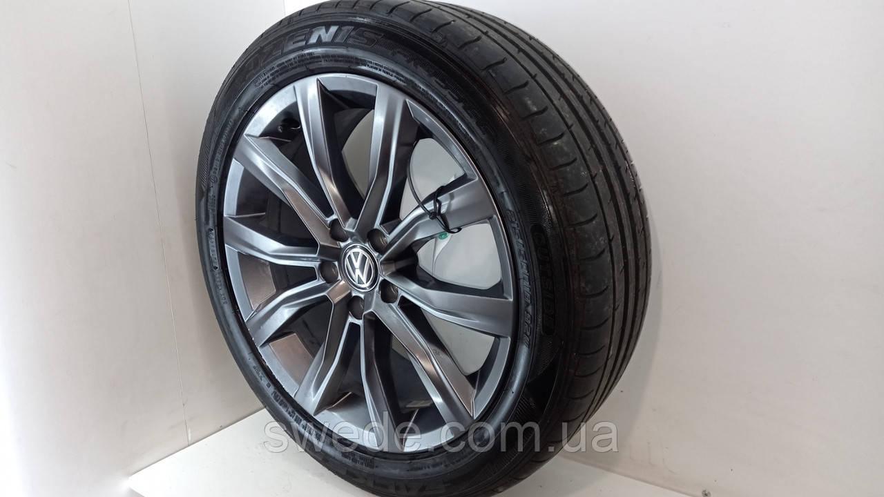 Комплект резина FALKEN Azenis и диски Volkswagen T-Roc 215/50 R18 2018 гг 2GA601025D