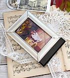 Старая английская фоторамка, рамка для фото, посеребренный металл, Англия, винтаж, фото 10