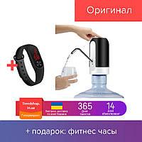 Сенсорная насадка на бутылку | установка на бутыль | помпа дозатор для воды Charging Pump № K12-28