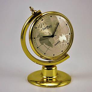 Настольные офисные часы сувенир Глобус, фото 2