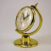 Настольные офисные часы сувенир Глобус, фото 3