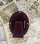 Старая английская овальная фоторамка, рамка для фото, посеребренный металл, Англия, винтаж, фото 5