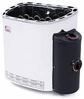 Электрическая печь Sawo SCANDIA SCA 80 NB (8 кВт, 7-13 м3, 380 В ), со встроенным пультом управления