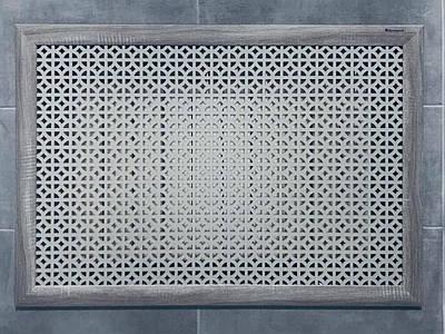 Решетка на батарею отопления по индивидуальным размерам | Экран для батареи, цвет серый