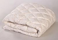 Теплое одеяло двуспальное евро 200*210 (микрофибра/холлофайбер) стёганое куб (4810), фото 1