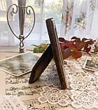 Старая английская фоторамка, рамка для фото, посеребренный металл, Англия, винтаж, фото 3