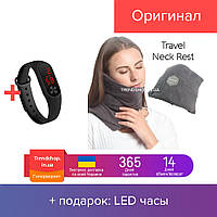 Подушка для путешествий | дорожная подушка Travel pillow №12-94 GR 2839 PS