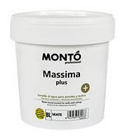 Эмаль на водной основе для стен и потолка Massima + MONTO