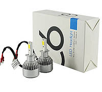 LED лампы светодиодные для фар автомобиля c6 h3 (2_007759)