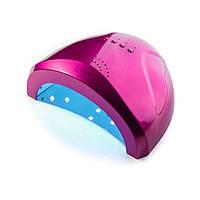 Гибридная лампа Sun One для сушки ногтей UV/LED 48w SUNOne, цвет ярко-розовый