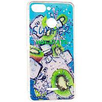 Чехол силиконовый Summer Fruit для Xiaomi Redmi Note 7 Kiwifruit
