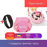 Косметичка-органайзер | косметический мешок | косметичка дорожная Vely Vely Розовый