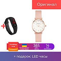 Часы женские наручные кварцовые   часы на руку розово-золотые Rosefield №3193 (500) PS