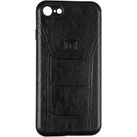 Чехол кожаный Leather Prime для Xiaomi Redmi 8 Black