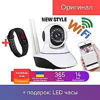 Веб камера Онлайн Видеоняня WiFi Smart Net Camera Q6 с двумя антеннами Камера видеонаблюдения New Design