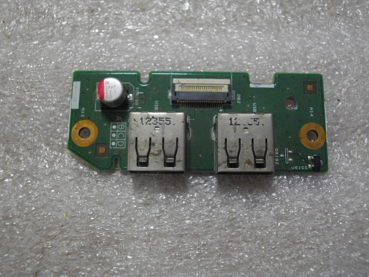 Плата с USB портами 61WFC разъемом DELL Inspiron 3520 бу