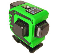 Лазерный уровень нивелир 3D 12 линий со штативом 5178, зеленый
