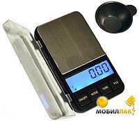 Ювелирные весы 6285PA-500 (0,01)+чашка/ Портативні карманні електронні ювелірні ваги