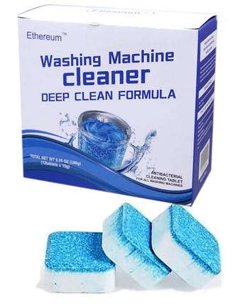Антибактериальное средство очистки стиральных машин Washing mashine cleaner, фото 2
