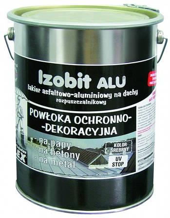 IZOBIT ALU - битумно-аллюминиевая эмульсия (ведро - 1кг)