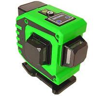 Лазерный уровень нивелир 3D 12 линий со штативом MHZ 5178, зеленый