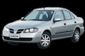 Авточехлы для Nissan (Ниссан) Almera 2 (N16) 2000-2006