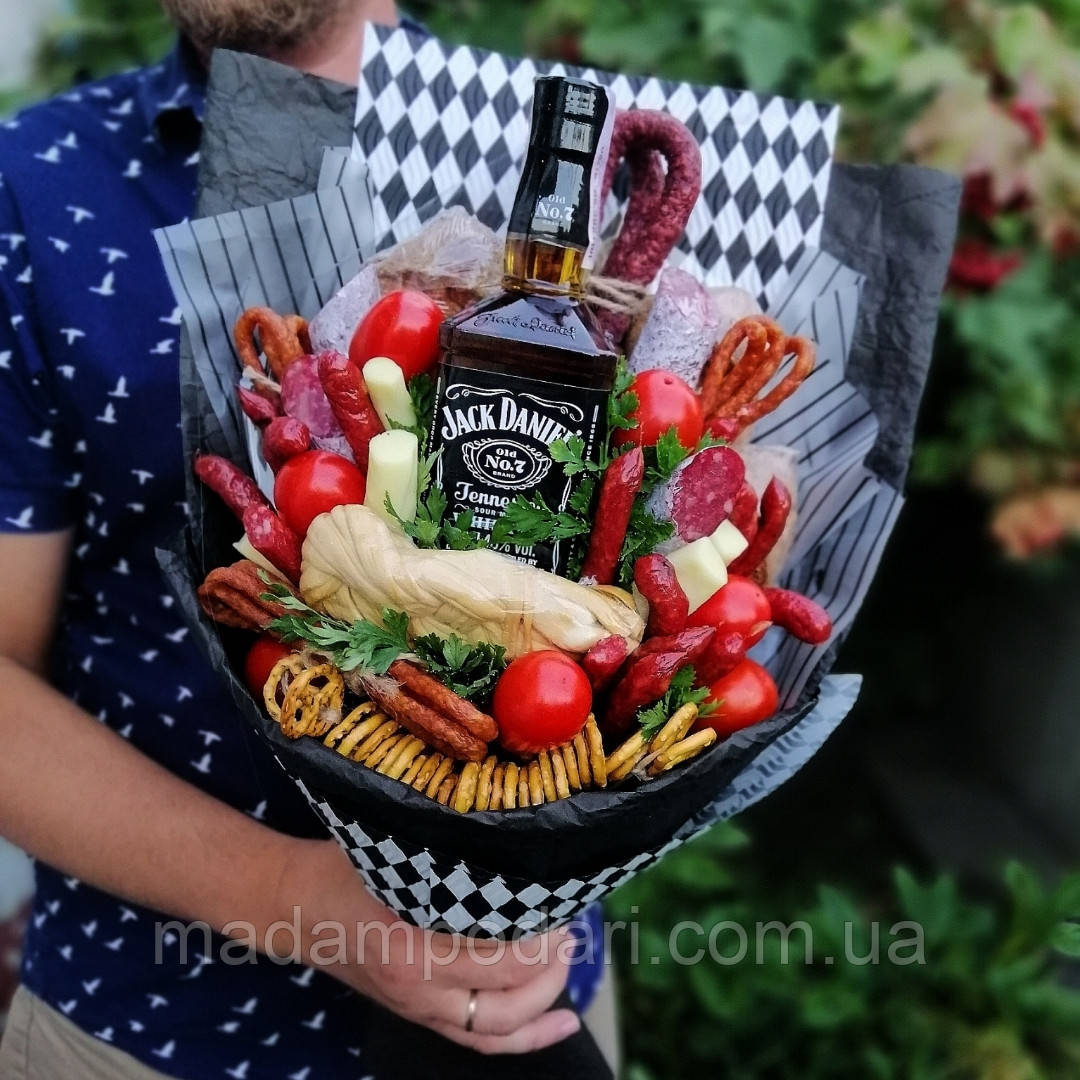 Вкусный букет с виски