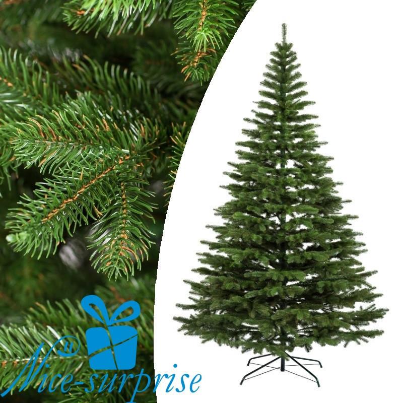 Искусственная силиконовая елка КОВАЛЕВСКАЯ зелёная 255 см