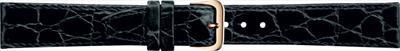 18 мм Кожаный Ремешок для часов CONDOR 082.18.01 Черный Ремешок на часы из Натуральной кожи