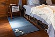 Электро-ковер с подогревом для ног, 150 x 60 см, (прямые углы) тёмно-синий, электрический Трио 01801 (GK), фото 2