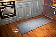 Электро-ковер с подогревом для ног, 150 x 60 см, (прямые углы) тёмно-синий, электрический Трио 01801 (GK), фото 4