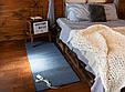 Электро-ковер с подогревом для ног, 150 x 60 см, (прямые углы) тёмно-синий, электрический Трио 01801 (GK), фото 6