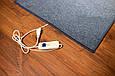 Электро-ковер с подогревом для ног, 150 x 60 см, (прямые углы) тёмно-синий, электрический Трио 01801 (GK), фото 9