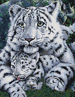 Набор для вышивания крестом 36х44 Белый тигр Joy Sunday D171