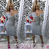 Жіноче плаття мод 0200,5 кольорів,Розмір - 42-44, 44-46 , Тканина - Ангора Софт, фото 7