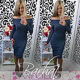 Жіноче плаття мод 0200,5 кольорів,Розмір - 42-44, 44-46 , Тканина - Ангора Софт, фото 10