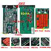 Професійний мультимарочний OBD2 сканер Delphi DS150E V3.0 USB 3 в 1, двухплатный, фото 3