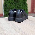 Жіночі кросівки Nike Air Force (чорні) 20238, фото 9