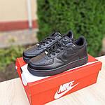 Жіночі кросівки Nike Air Force (чорні) 20238, фото 5