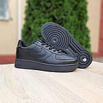 Жіночі кросівки Nike Air Force (чорні) 20238, фото 7