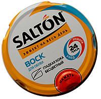 Воск для обуви SALTON (75ml) c норковым маслом бесцветный