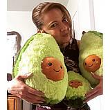 Авокадо - мягкая плюшевая игрушка (плюшевый авокадо) 20 см.Тренд 2020 года!, фото 4