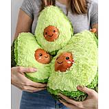 Авокадо - мягкая плюшевая игрушка (плюшевый авокадо) 20 см.Тренд 2020 года!, фото 5