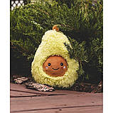 Авокадо - мягкая плюшевая игрушка (плюшевый авокадо) 20 см.Тренд 2020 года!, фото 6