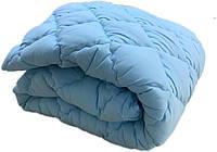 Теплое одеяло двуспальное евро 200х210 (микрофибра/холлофайбер) стёганое (5043), фото 1